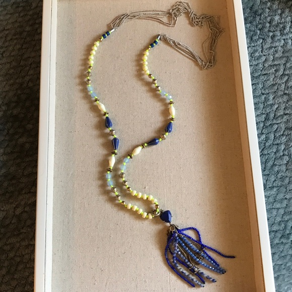 Stella & Dot Jewelry - Stella & Dot Tassle Necklace